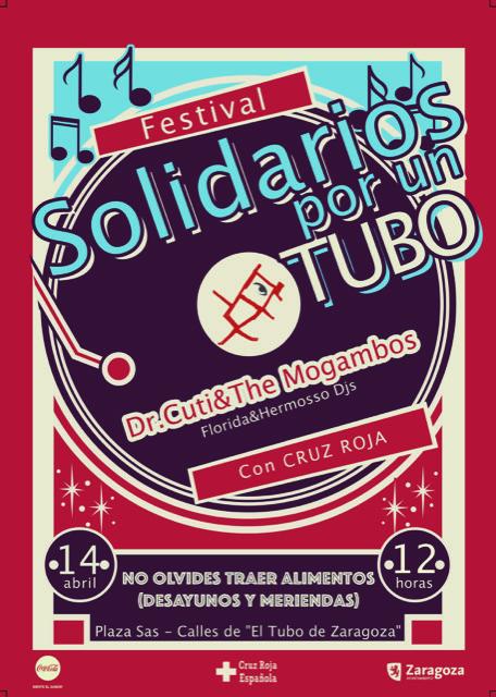 solidarios por un tubo programación zaragoza